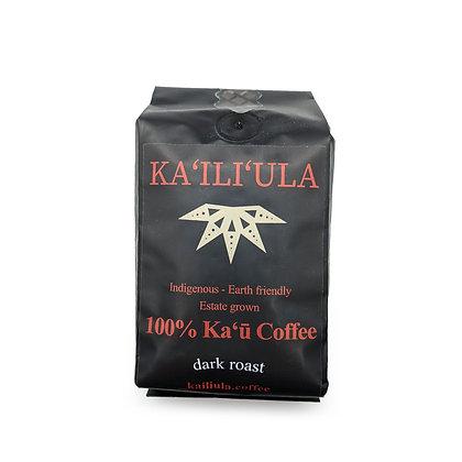 Coffee, Kāʻu - Dark (Ka`ili`ula) 8 oz.