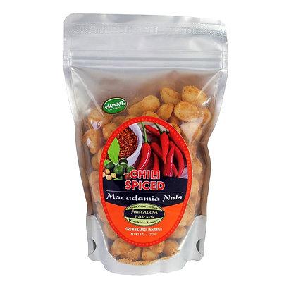 Macadamia Nuts, Chili Spiced (Ahualoa Farms)