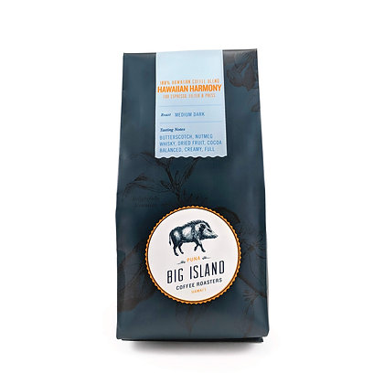 Coffee, Hawaiian Harmony - Medium Dark (Big Island Coffee Roasters)