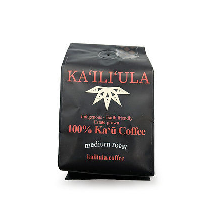 Coffee, Kāʻu - Medium (Ka`ili`ula) 8 oz.