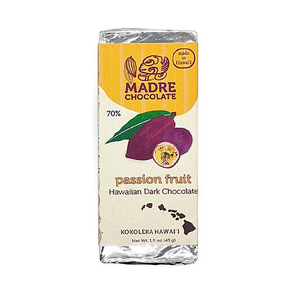 Chocolate Bar, Passion Fruit (Madre Chocolate)