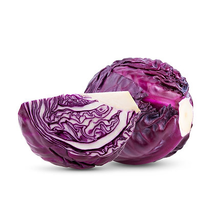 Cabbage, Red - 2 lbs.