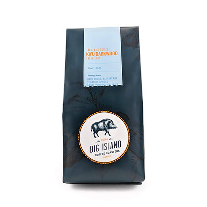 Coffee, Kau Darkwood - Dark (Big Island Coffee Roasters)