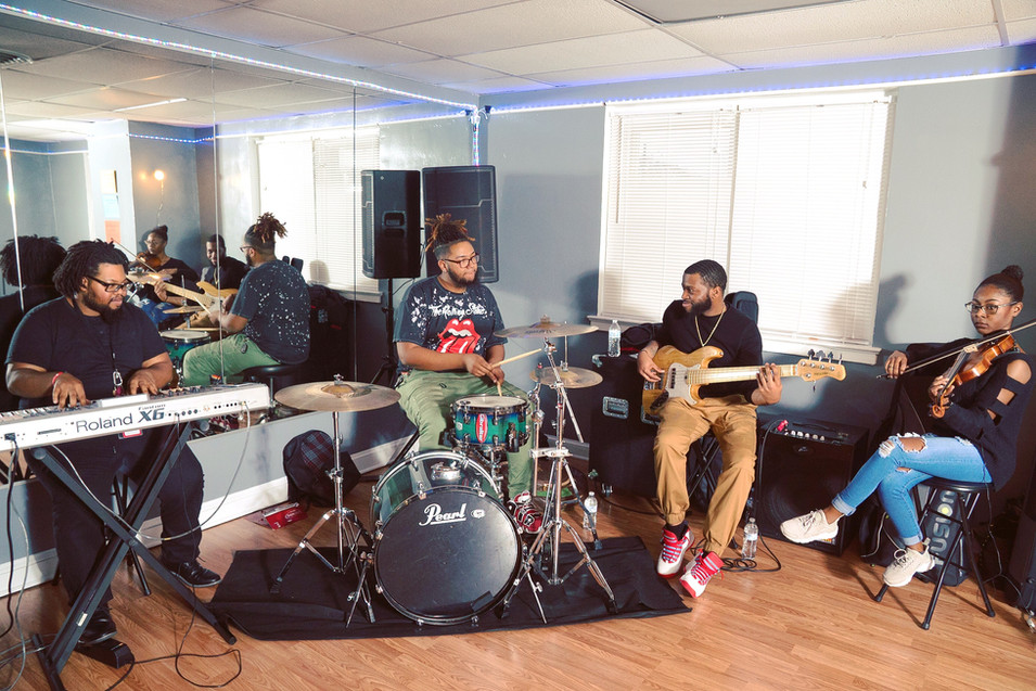 Smooth Hip-Hop Groove Live Class Band