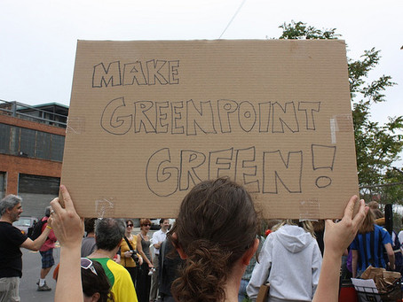 """What does """"going green"""" mean to Neighbors Allied for Good Growth (NAG)?"""