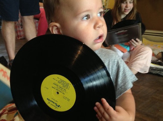 """What does """"going green"""" mean to Go Green! Brooklyn Festival performer Natalie of Baby DJ S"""