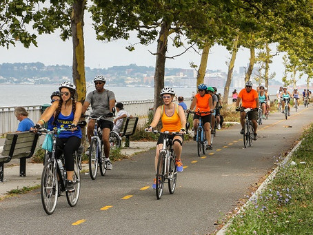 """What does """"Go Green"""" mean to Brooklyn Greenway Initiative?"""