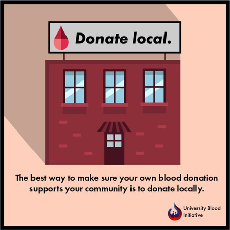 Why should I donate to my local center?