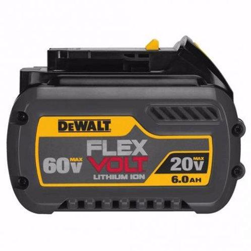 BATERIA DEWALT FLEXVOLT 60V MAX / 20V MAX 2.0 AMPS / 6.0 AMPS MOD.: DCB606