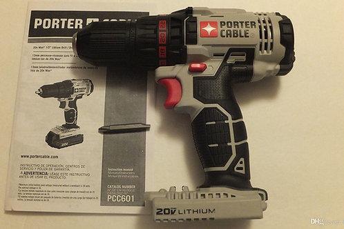 FURADEIRA PORTER CABLE 20V MAX LITHIUM PCC601