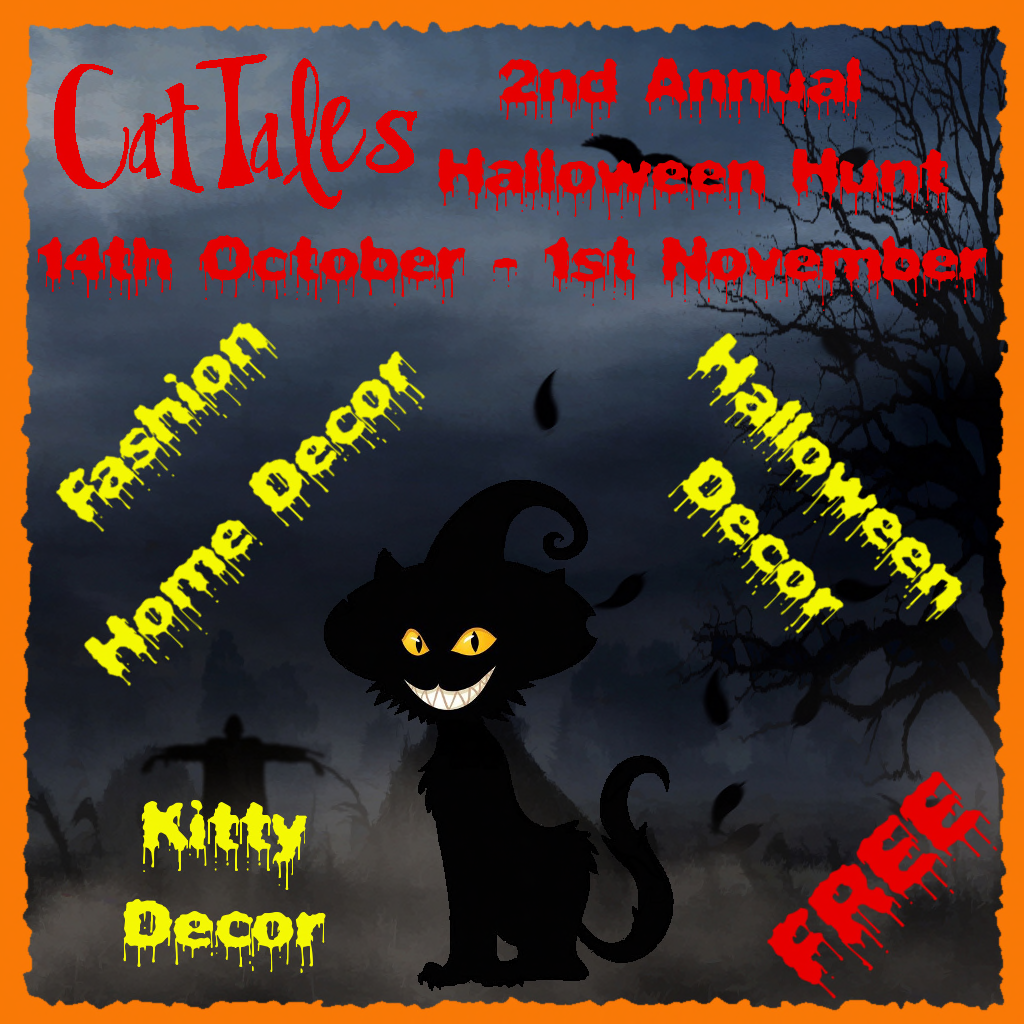 [Image: CatTales%20Second%20Halloween%20Hunt%20Poster.png]