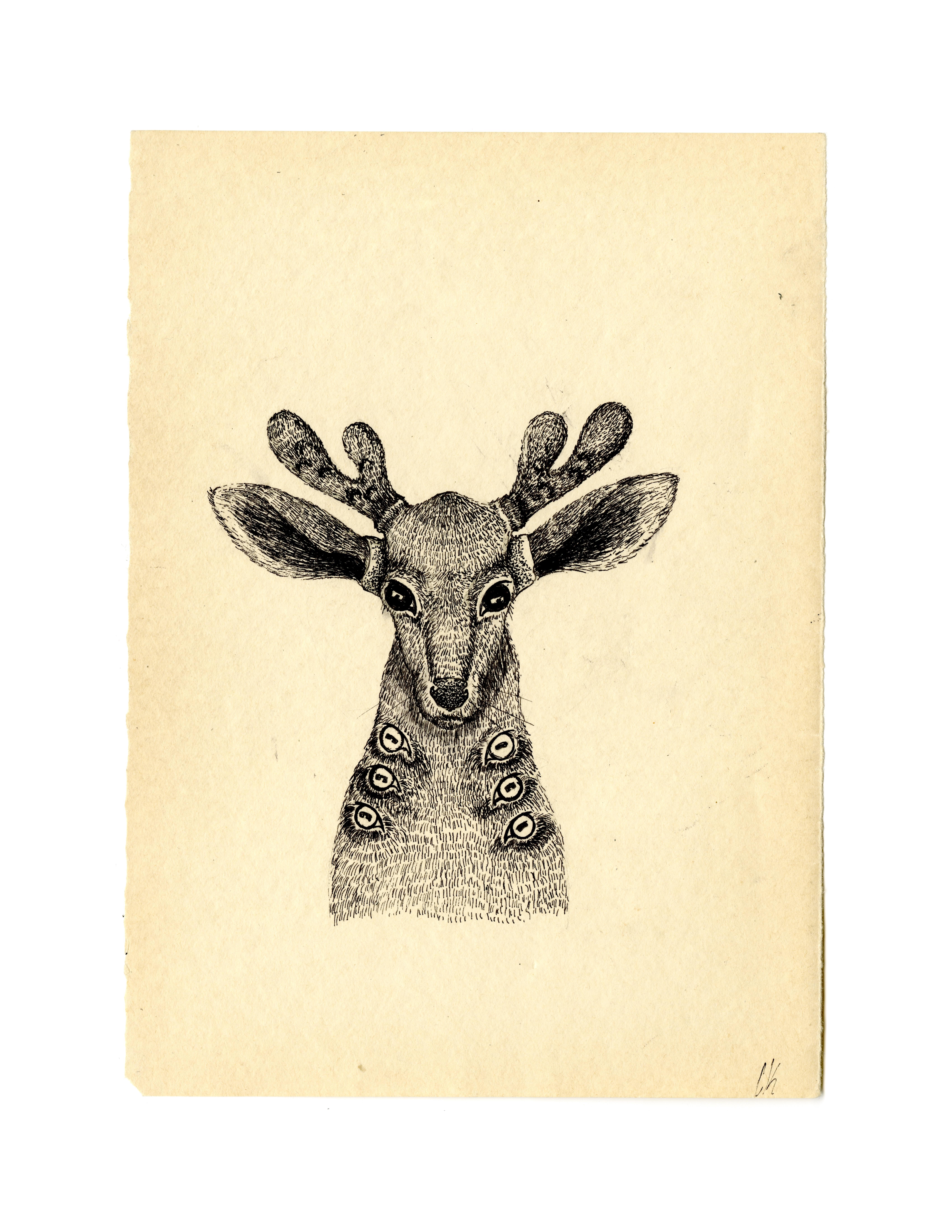 Weird Dear Print 3/7