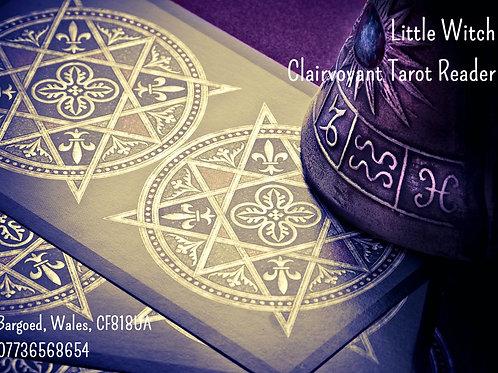 121 clairvoyant Tarot Reading 30 min Voucher