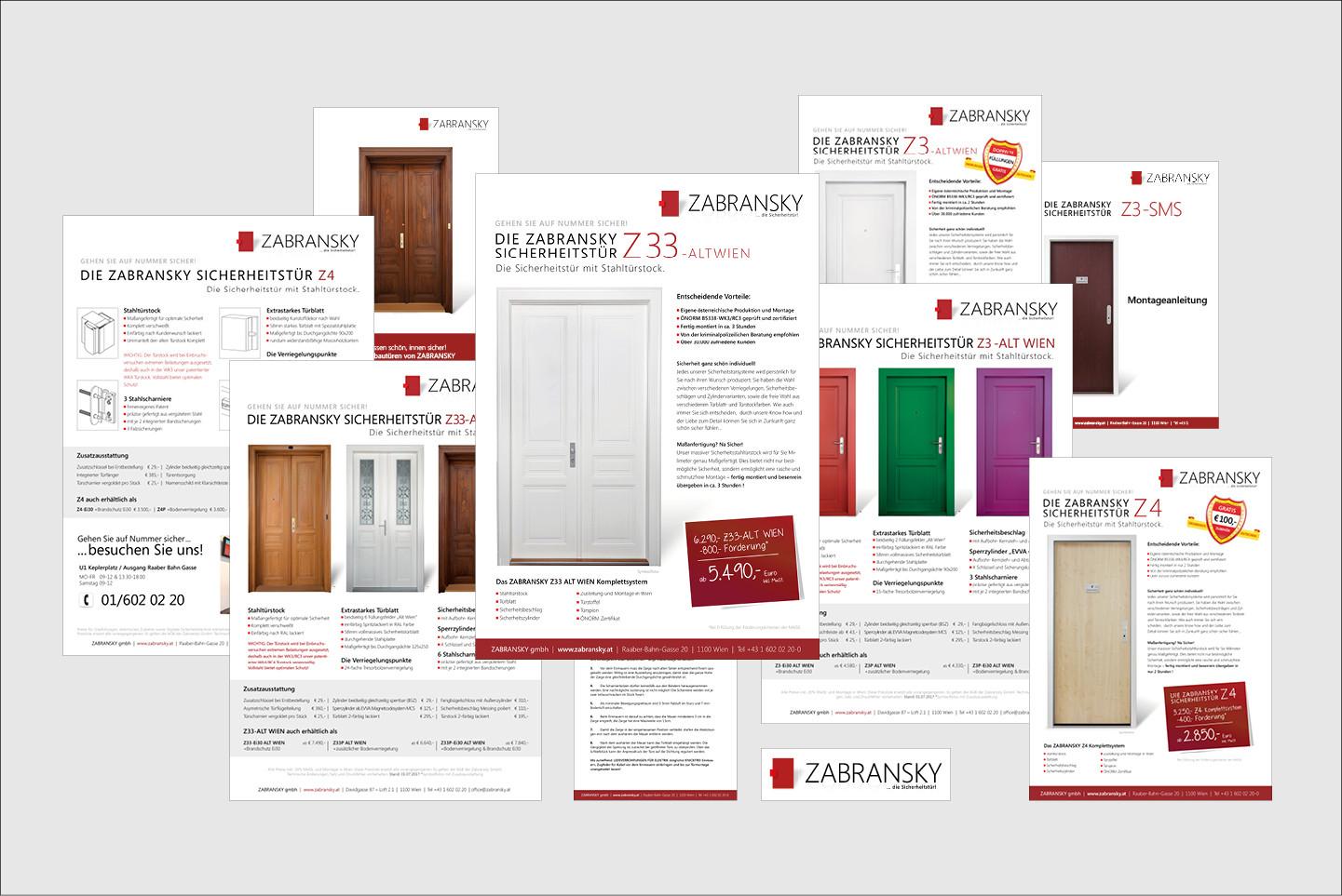ZABRANSK GmbH Grafik diverse Drucksorten,  Fotografie,  HQ Bildretusche
