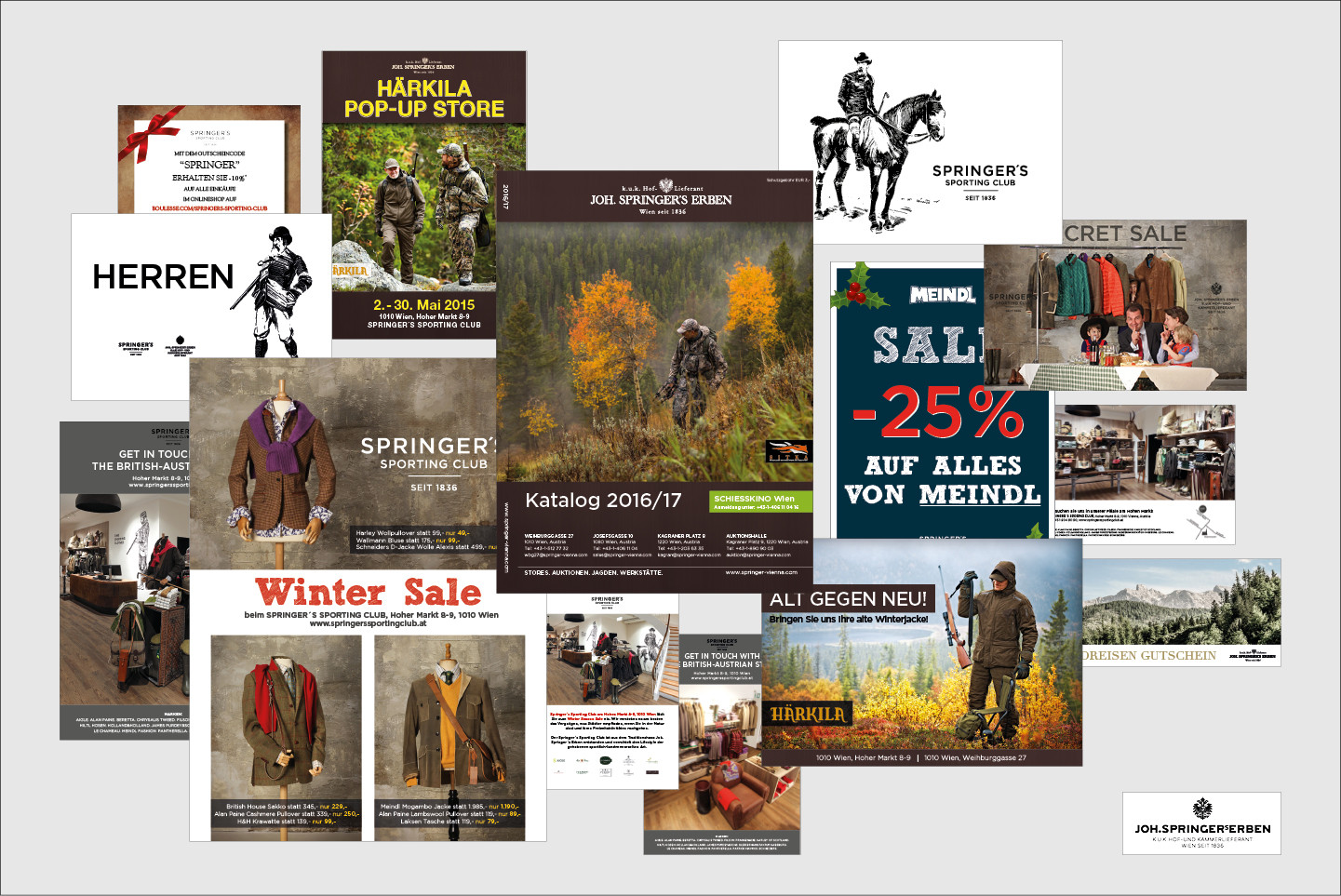 JOH. SPRINGER´S ERBEN Produktfotografie, Immobilienfotografie, Grafik diverse Drucksorten