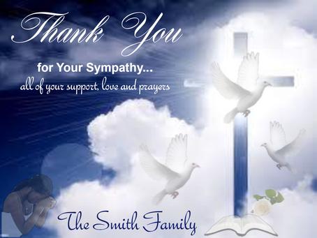 Send a Sympathy or Thank You Card