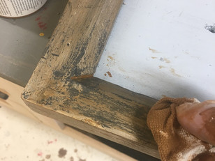 Weathering the frame