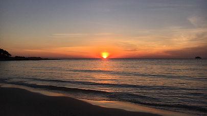 sunset in koh samet