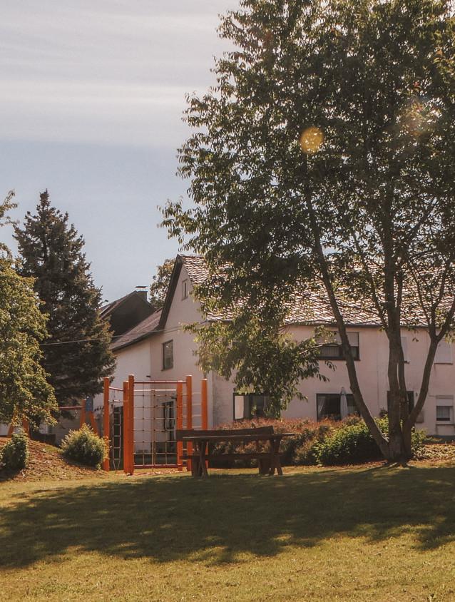 Der Spielplatz im Oberdorf