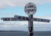 Land's End to John o' Groats is the trav