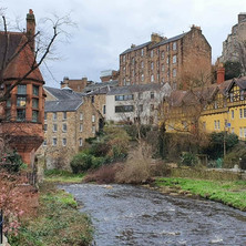 Dean Village and Water of Leith