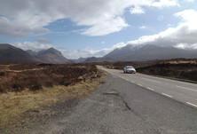 Road trip across Skye