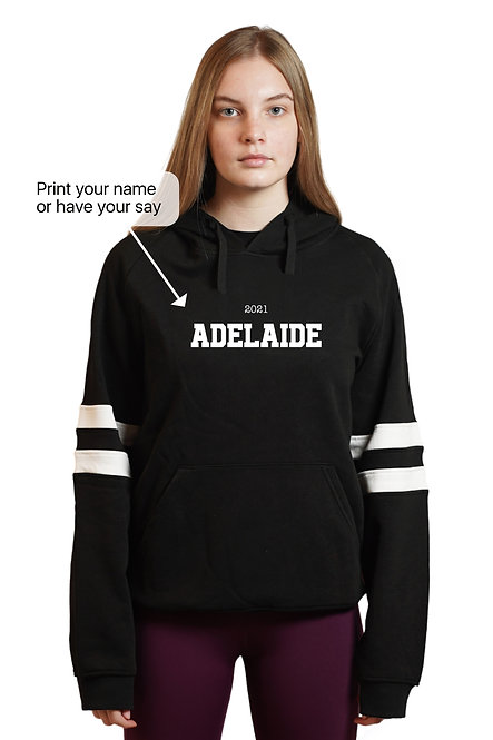 Customise Your Message Gym Hoodie