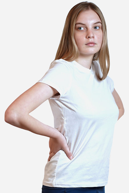 100% Organic Cotton T-shirt (White)