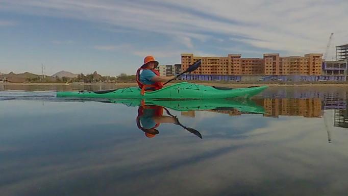 Kayaking Tempe Town Lake