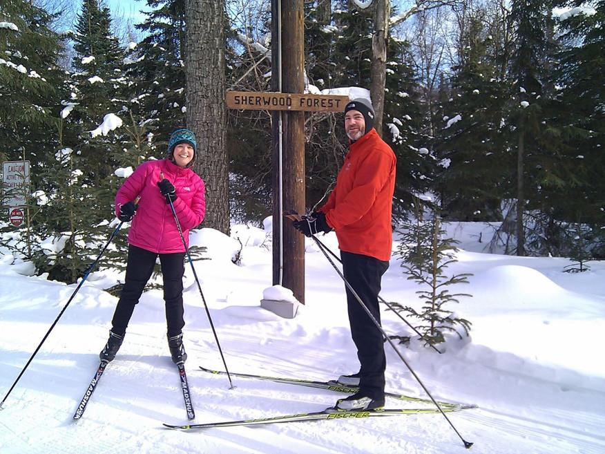 Cross Country Skiing at Kincaid Park
