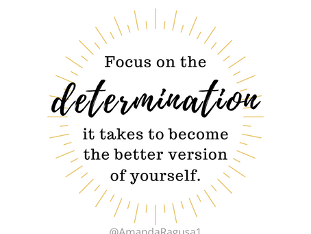 Sometimes You Need To Feel Your Determination