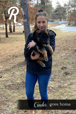 Cinder goes Home!