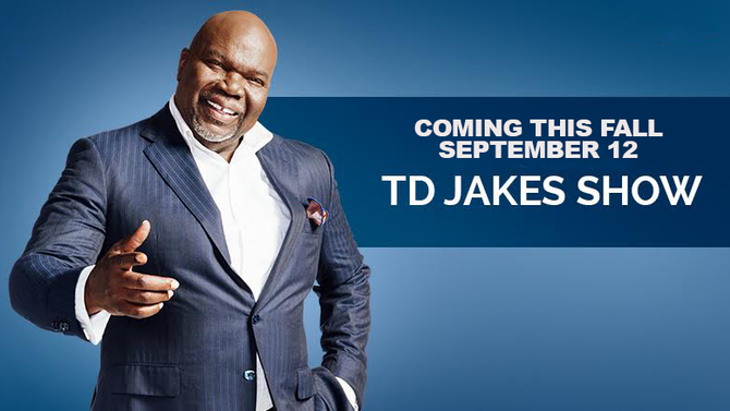 BISHOP TD JAKES SET TO EMPOWER THE MASSES WITH NEW TALK SHOW