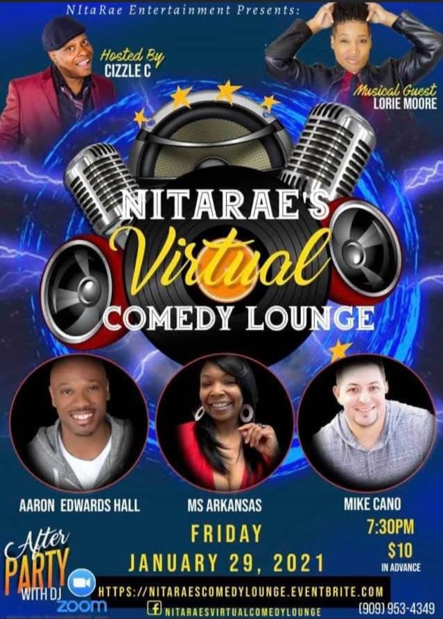 NITARAE'S COMEDY LOUNGE GOES VIRAL