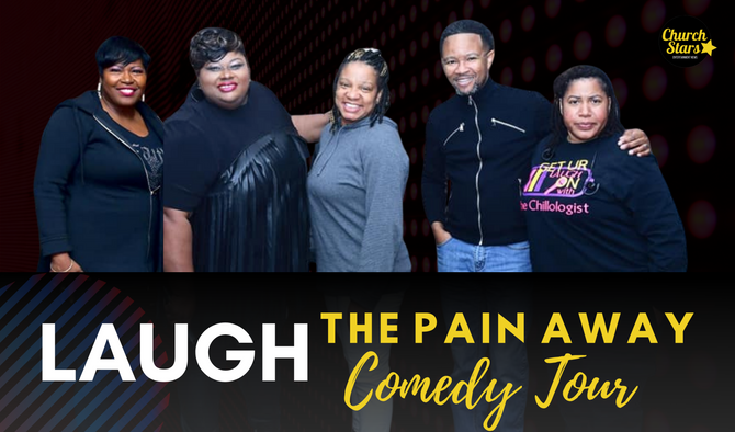 LAUGH THE PAIN AWAY COMEDY BASH