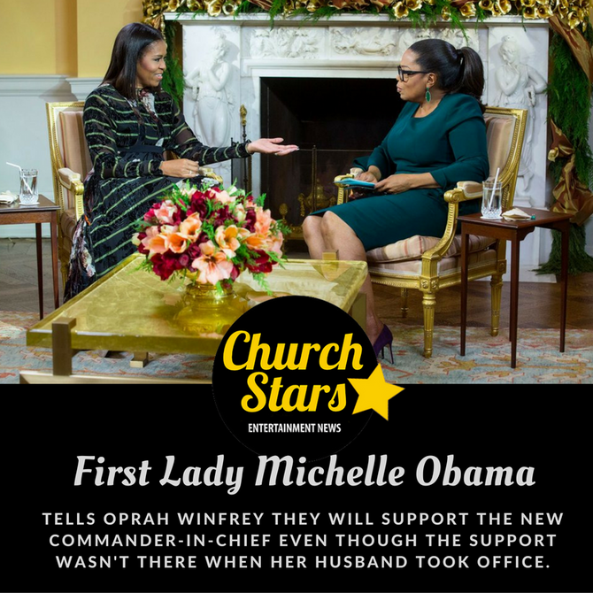 FIRST LADY MICHELLE OBAMA'S FINAL INTERVIEW WITH OPRAH WINFREY