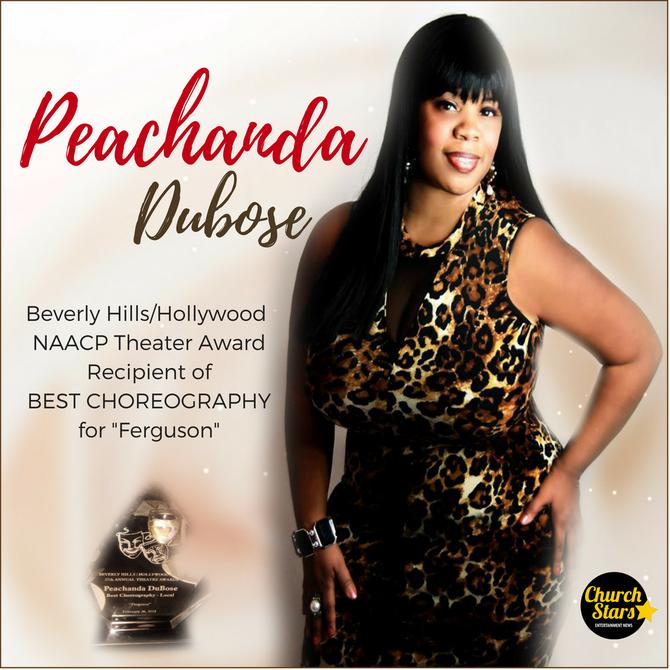 PEACHANDA DUBOSE RECEIPENT OF HER 2ND NAACP AWARD