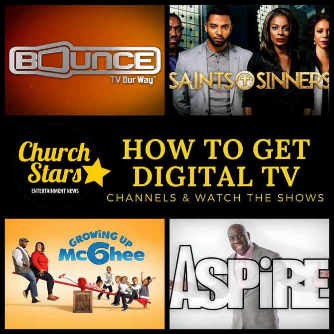 HOW TO GET DIGITAL TV CHANNELS
