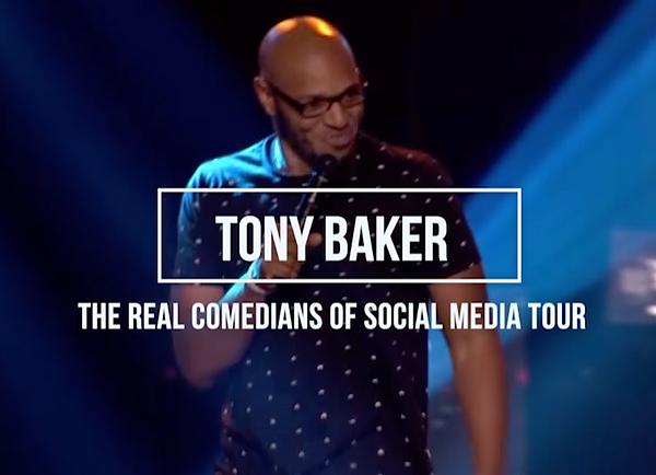 COMEDIAN TONY BAKER NEW SPECIAL