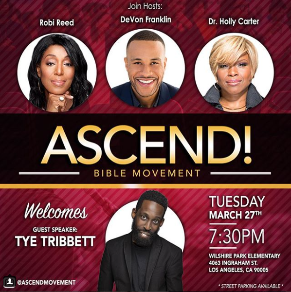 LEADING INDUSTRY PROFESSIONALS HOST ASCEND BIBLE MOVEMENT