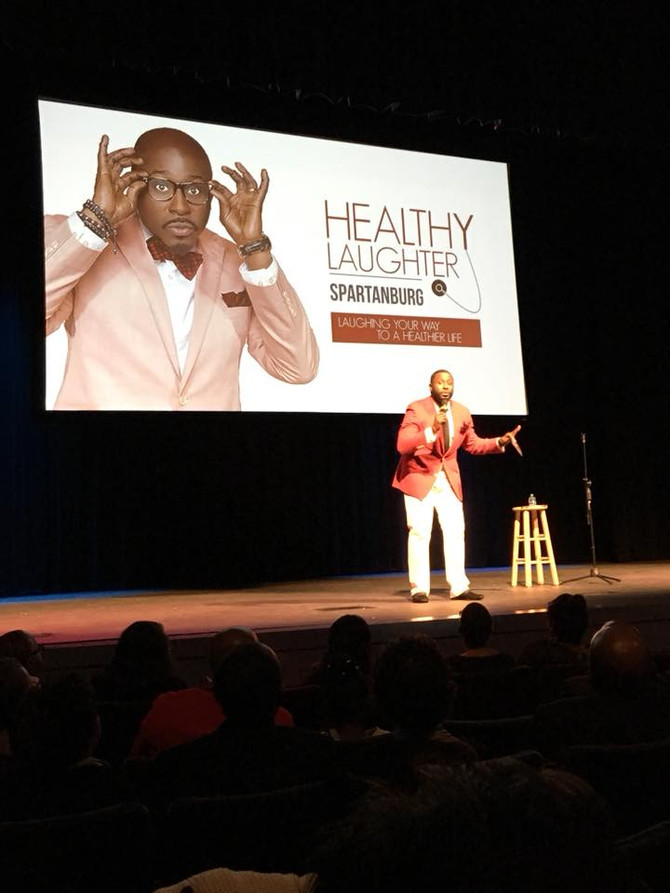 HEALTHY LAUGHTER WITH AKINTUNDE AND FRIENDS