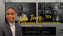 YOUNG CHURCH STAR INTERVIEWS ANDREW YOUNG