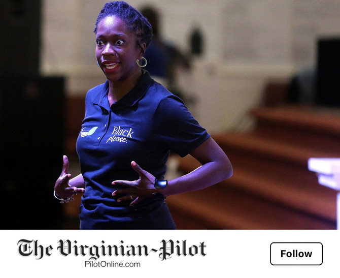 ALLISON MOORE FEATURED IN THE VIRGINIA POST