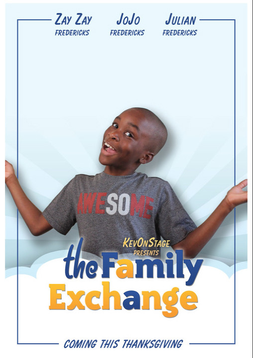"Loads of Laughs & Life Lessons in Kevin Fredericks ""The Family Exchange"""