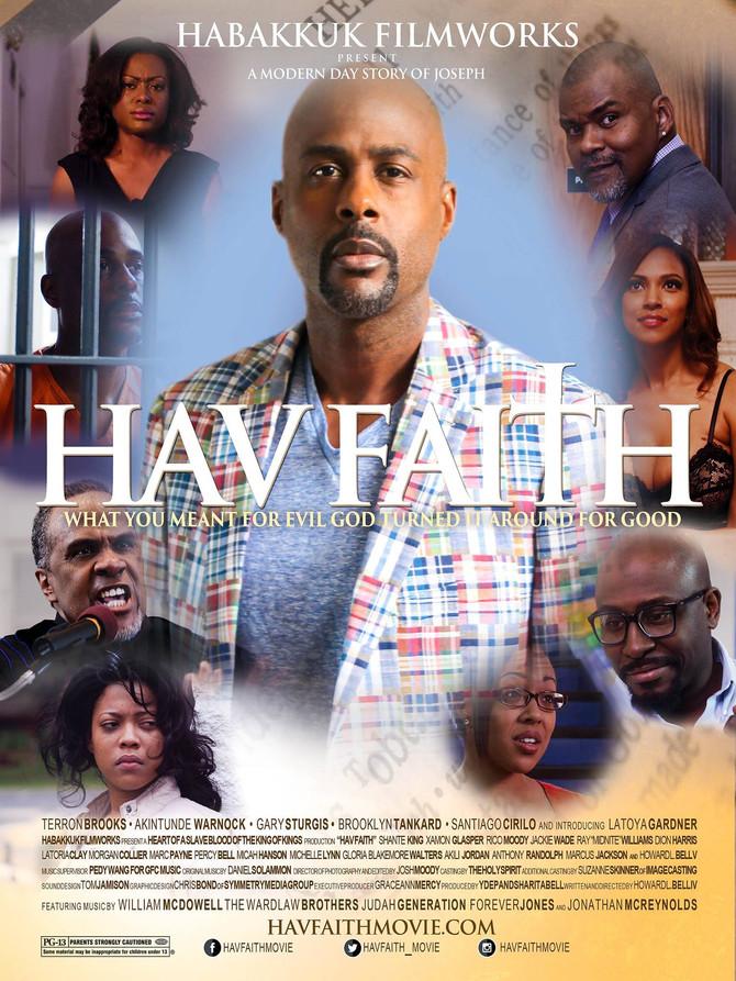 """HAV FAITH"" MOVIE PREMIERE!  HOWARD BELL TALKS DIVINE INTERVENTION"