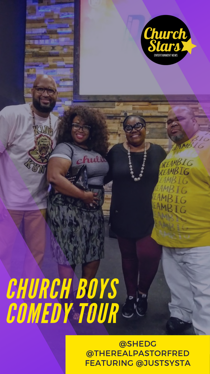 CHURCH BOYS COMEDY TOUR