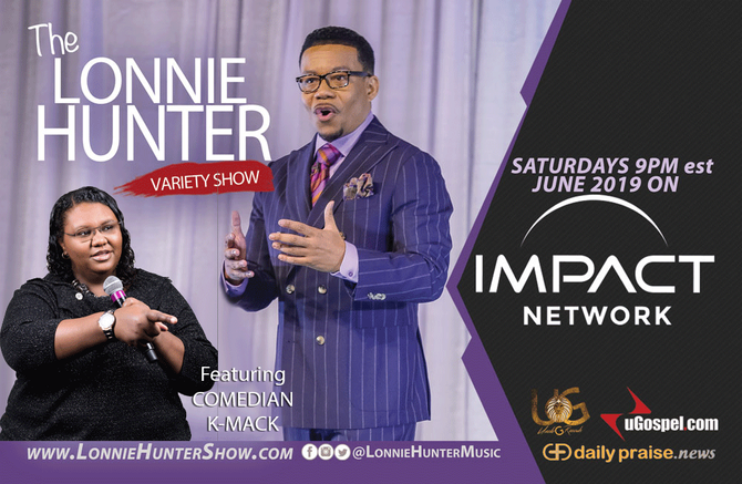 K-MACK ON THE LONNIE HUNTER SHOW JUNE 22