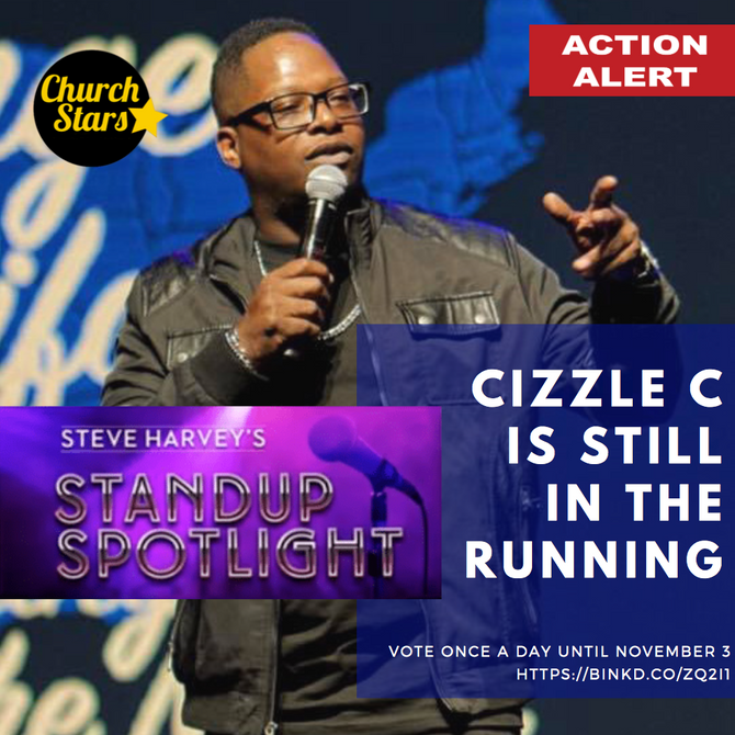WE STILL HAVE ONE STANDING - VOTE FOR CIZZLE UNTIL NOVEMBER 3