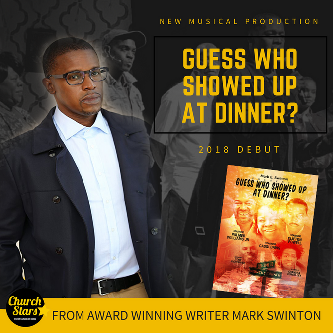 MARK SWINTON'S NEW MUSICAL GUESS WHO SHOWED UP AT DINNER
