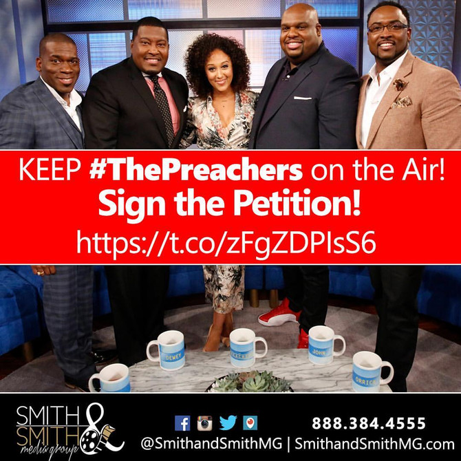 """SUMMER TEST RUN FOR DAYTIME TALK SHOW """"THE PREACHERS"""" IS UP!"""
